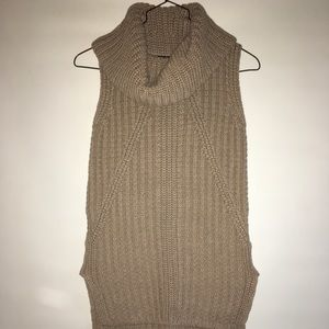 Banana Republic Sleeveless Turtleneck Sweater
